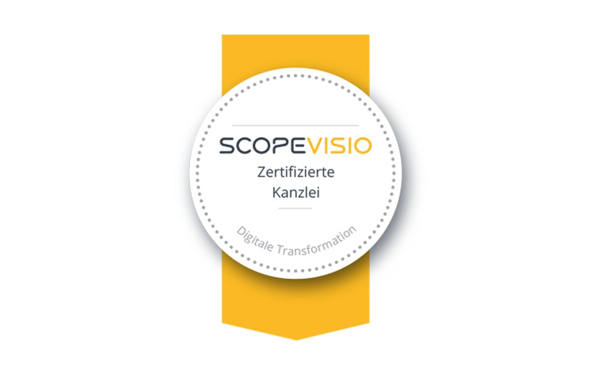Scopevisio zertifizierte Kanzlei