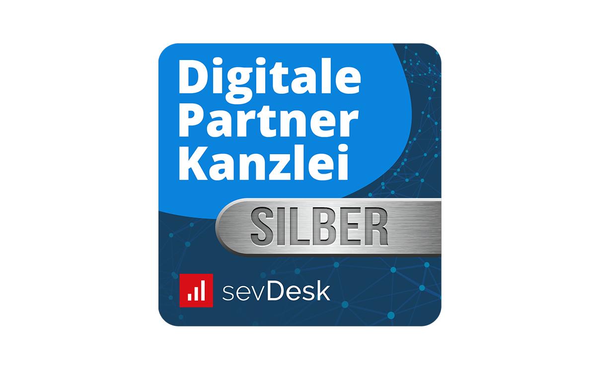 sevDesk Digitale Partnerkanzlei Silber