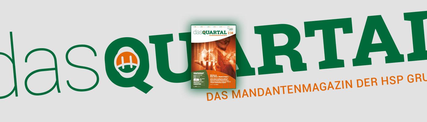 DAS QUARTAL 2.2014 ist online