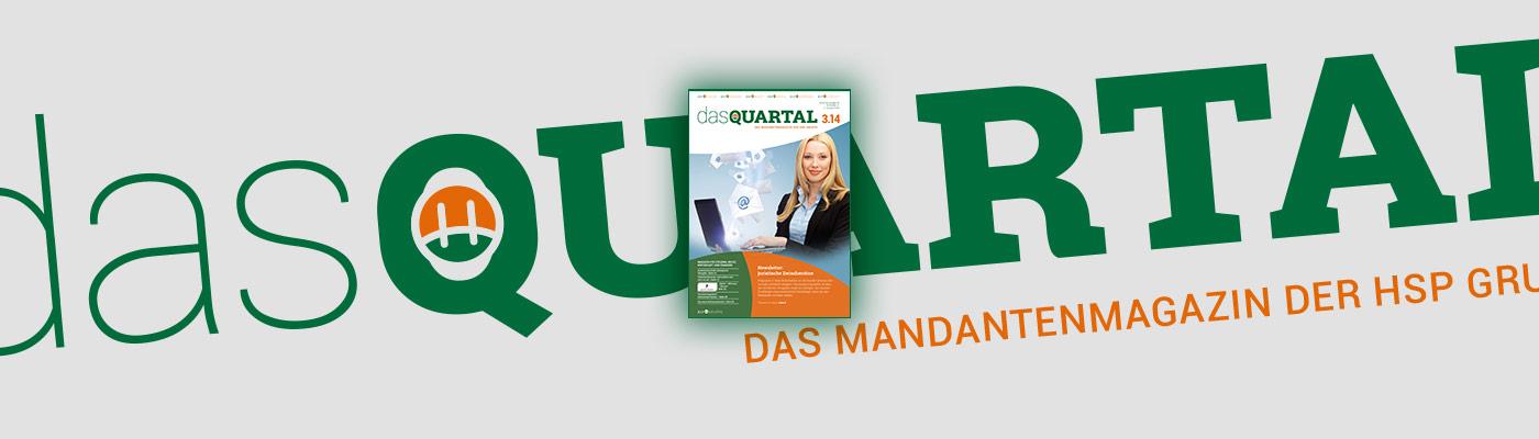DAS QUARTAL 3.2014 ist online