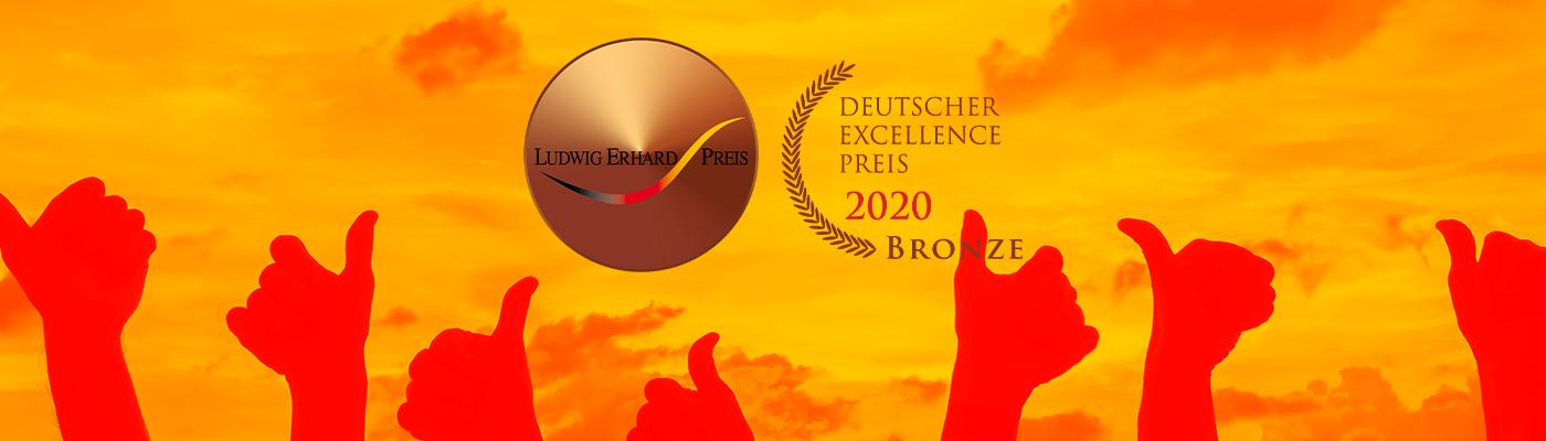 HSP STEUER Hannover mit Ludwig-Erhard-Preis 2020 in Bronze ausgezeichnet