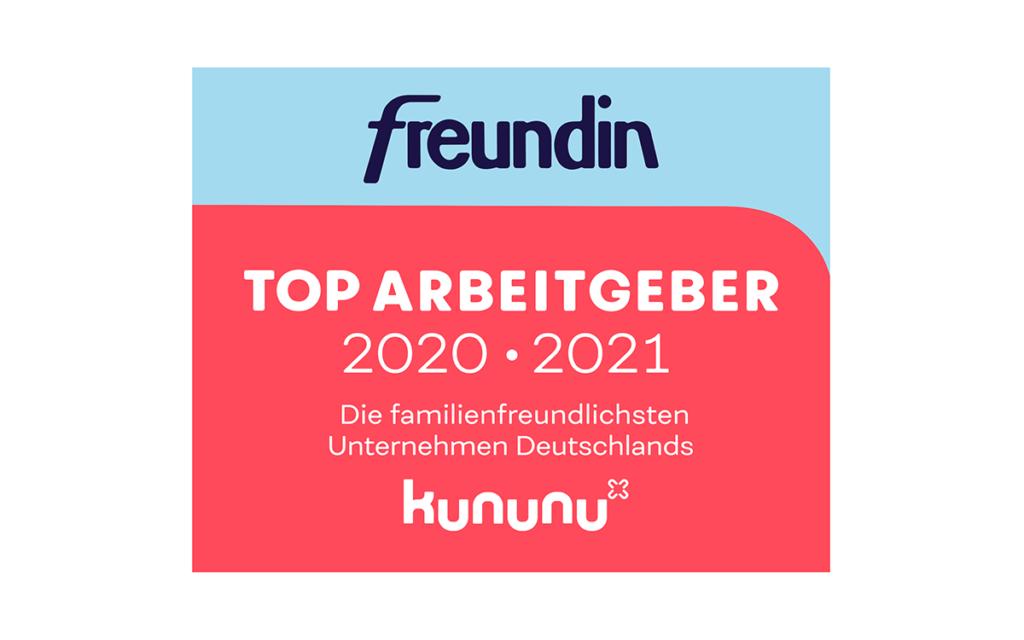 freundin Top-Arbeitgeber – die familienfreundlichsten Unternehmen Deutschlands